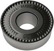 Round Insert suits medium- to heavy-duty roughing operations.