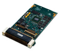 OpenVPX and XMC Modules feature Freescale processors.