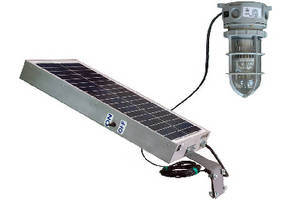 Explosion Proof LED Light features solar-powered design.