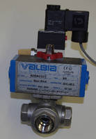 Ball Valves feature twin rack and pinion design.