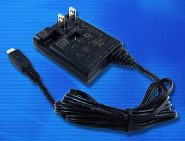Wall Plug-In Power Adapter charges tablets via micro USB output.