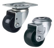 Swivel Casters are available with locking brake.