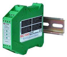 AC LVDT Signal Conditioner features pushbutton calibration.