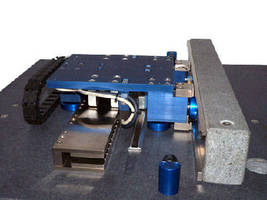 Linear Positioning Stage incorporates air bearings.