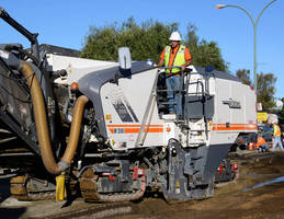 Wear-Resistant Skis protect road milling machinery.