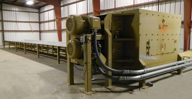Horizontal Bale Grinder operates virtually dust free.