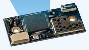 Bluetooth v4.0 Module has dual-mode stack, 300 m range.