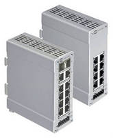 Fully Managed Ethernet Switches integrate PROFINET I/O stack.