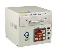 UV-Ozone Cleaning System accommodates 5 x 5 in. substrates.