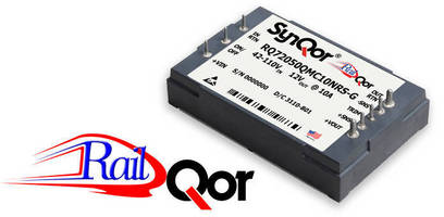 DC/DC Converters serve transportation industry applications.