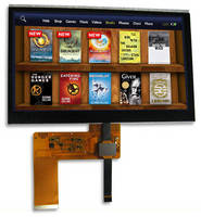 TFT Displays are available with capacitive touch panels.