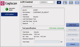 Control Module optimizes PCB component placement process.