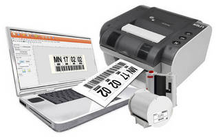 Wide Format Labeling System includes formatting software.