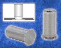 Self-Clinching Standoffs suit thin stainless steel assemblies.