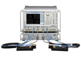 Broadband Vector Network Analyzer uses single coax connection.