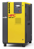 Rotary Screw Compressors increase output via design.