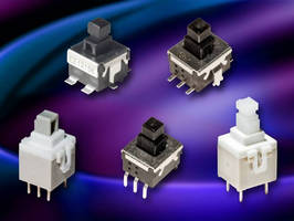 Medium Power Switches feature momentary or locking actuation.