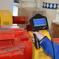 Ultrasonic Test System features fully integrated strobe light.