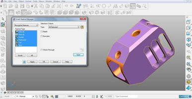 3D CAD for CAM Application combines automation and versatility.
