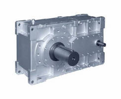 Parallel and Bevel Helical Gearboxes come in intermediate size.