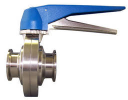 Butterfly Valve targets food, beverage, and dairy industries.