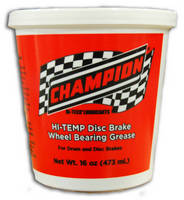 Disc Brake Wheel Bearing Grease meets severe duty requirements.