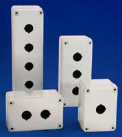 Plastic Push Button Box offers alternative to steel.