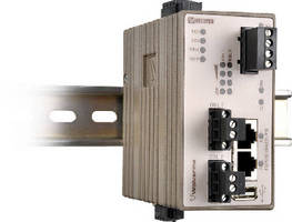Ethernet Line Extender supports data rates up to 30.4 Mbps.