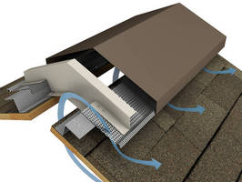 Preassembled Roof Vent reduces installation effort.