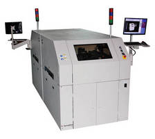 Space-Saving BTB Stencil Printer increases throughput.