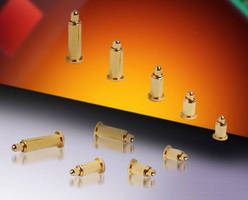 Single Pogo Pin BTB Contacts suit high-lifecycle applications.