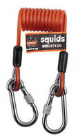 Coiled Tool Lanyards prevent tangles, trips, and snags.