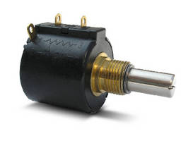 Precision Potentiometer offers dual ball bearing option.