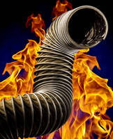 High Temperature Exhaust Hose combines flexibility, durability.