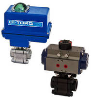 Automated Full Port Ball Valve has 2,000 psi working pressure.