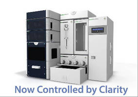 Chromatography Software controls sample prep components.