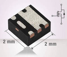 N-Channel MOSFET (150 V) comes in 2 x 2 mm package.