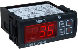 Thermocouple Limit Alarm suits food service equipment.