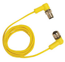 M12 Cables feature compensated connectors for thermocouples.