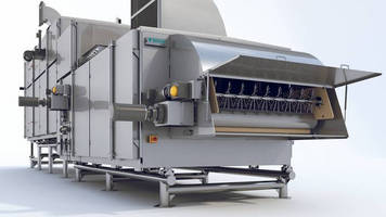 Hygienic Dryer is designed for coated RTE cereal products.