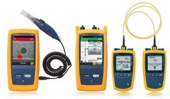 Fiber Optic Testers accelerate inspection/certification/diagnosis.