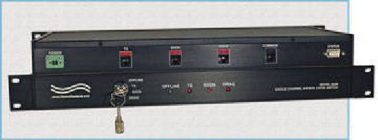 Off-Line Switch supports secure conference communications.