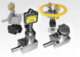 Valve Interlocks feature bolt interlocking design.
