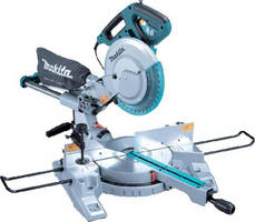 Compound Miter Saw features 10 in. carbide-tipped blade.