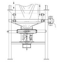Bulk Bag Closer stops flow from partially discharged bags.