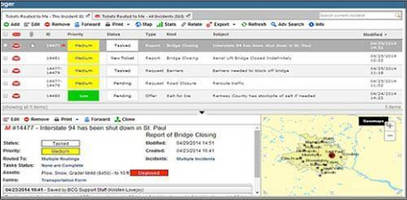 Incident Management System is optimized for desktop/mobile use.