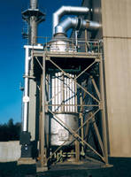 Wet Electrostatic Precipitator controls fine particulate.