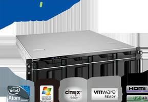 Rackmount 4-Bay NAS Server is designed to meet SME needs.