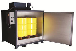 Drum and Tote Oven eliminates need to use band heaters.
