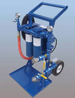 Portable Filter Carts  purify hydraulic and lube oils.